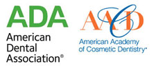 Logos for the AAD and the ADA